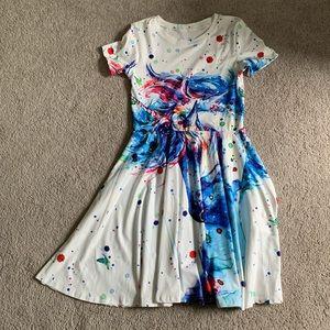 Artistic unicorn dress
